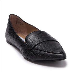 Steve Madden Croc Leather Flats
